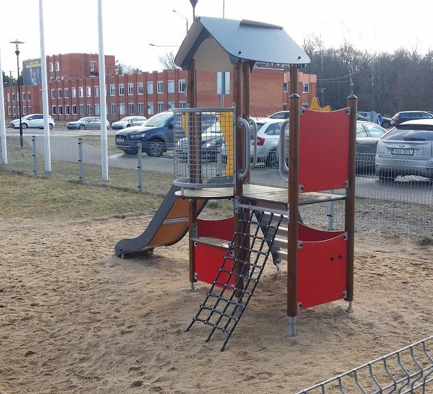 Tallinna Teaduspark Tehnopol Aatomiku Lastehoid lasteala ehitustööd