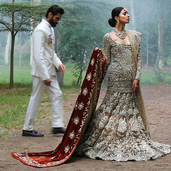 Pakistani Indian Designer Wedding Dresses Bespoke Or Ready Made UK - Pakistani Designer Wedding Dresses