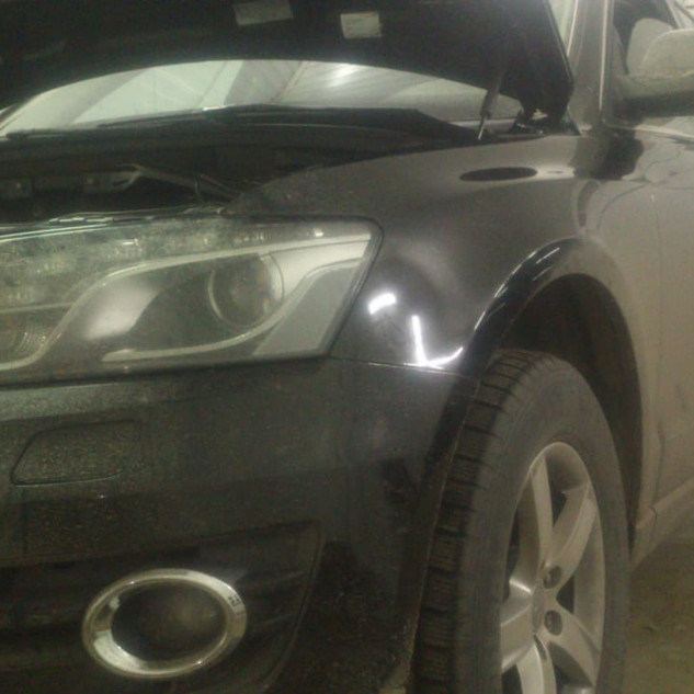 AUDI Q5  Ремонт  DSG  S-tronik