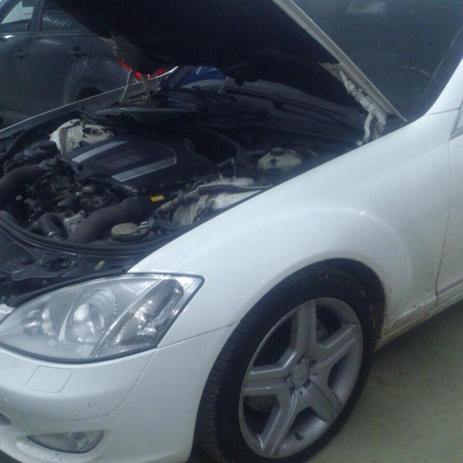 Mercedes benc w221 Диагностика ДВС