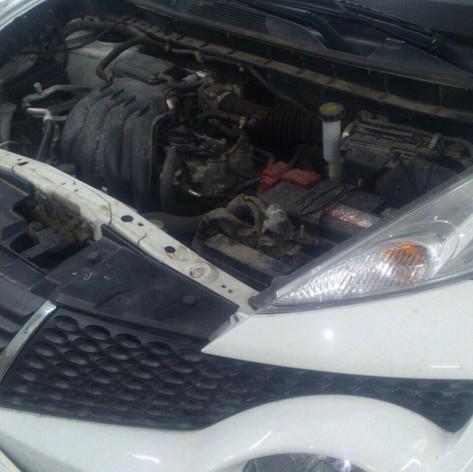 Nissan Juke Ремонт  CVT   с последующей заменой масла
