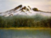 Mt. Rainier from Reflection Lake