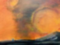 Painting of Astronauts on Mars