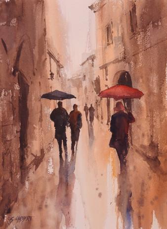 L'Isle sur la Sorgue Umbrellas, sold