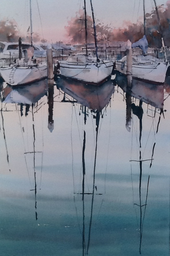 Sunset Reflections, sold