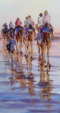Cable Beach Reflections, sold