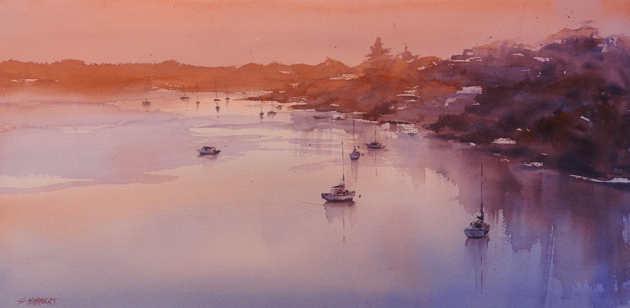 Mosman Bay at Dawn, sold
