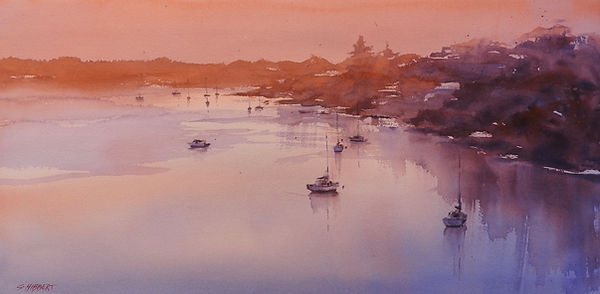 Sue Hibbert Watercolour Painting