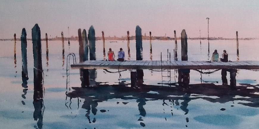A View to Venice, sold