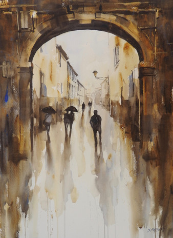 Archway Reflections, sold