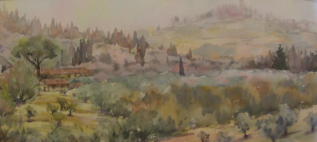Tuscan Hillside, sold