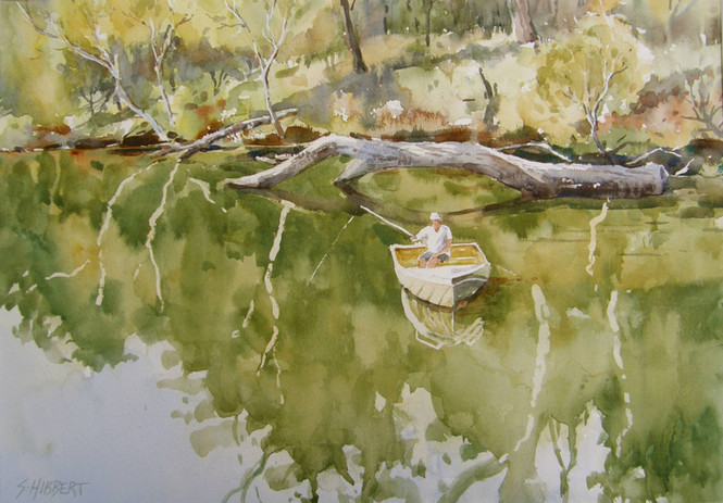 Blackwood River Reflections, sold
