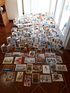 266 cards for COVID workers project