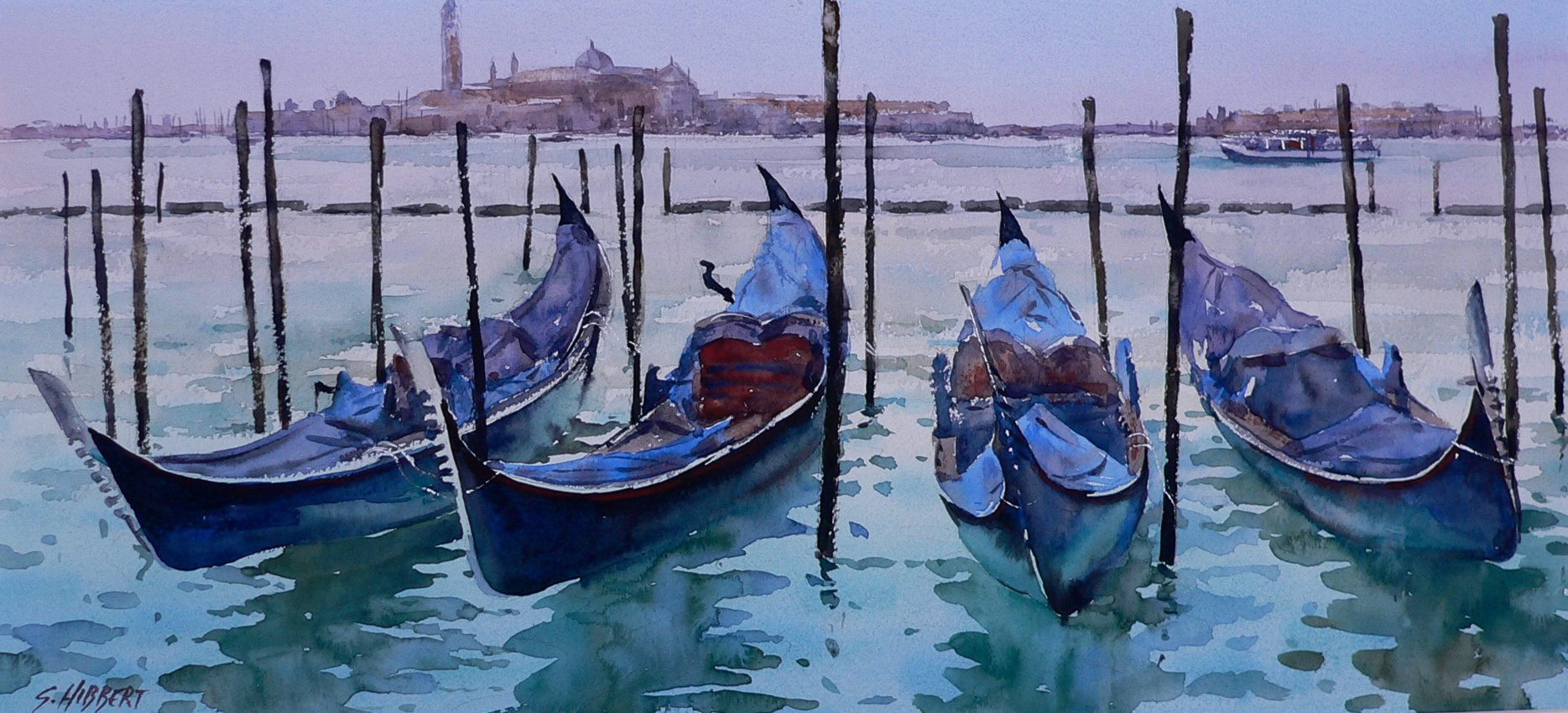 Venice Reflections, sold