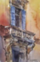 Sue Hibbert Watercolour Painting