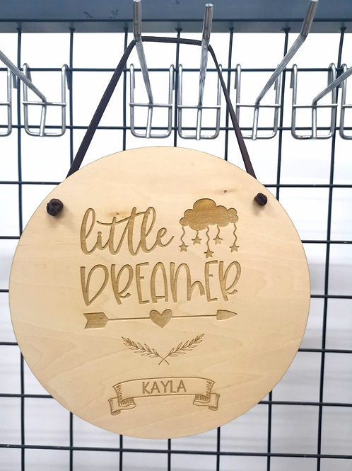 Baby and Kid Series Wall Plaque