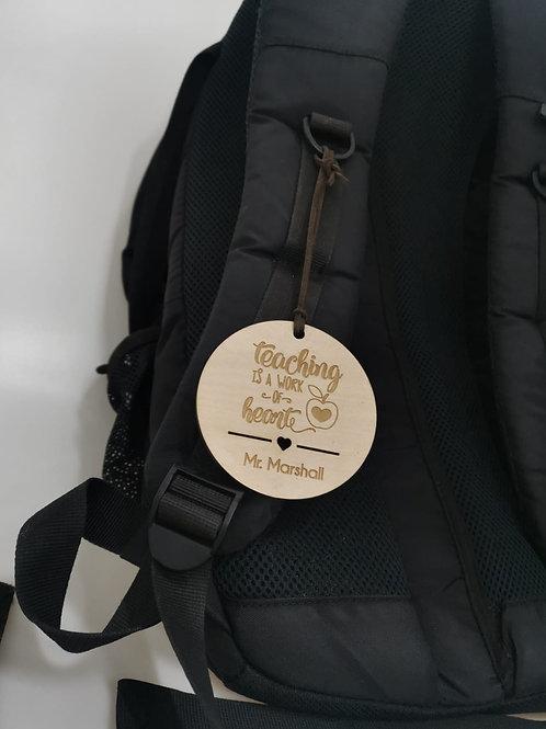 Teacher's Day Series Bag Tag
