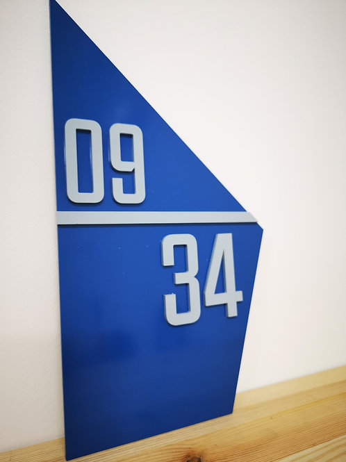 Modern Unit Number