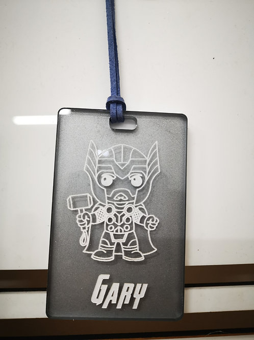 Chibi Thor Tag