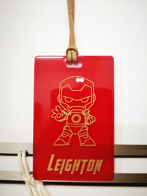 Chibi Iron Man Tag