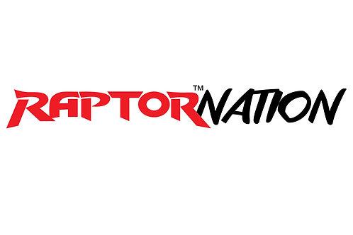 EQ Raptor Nation Sticker