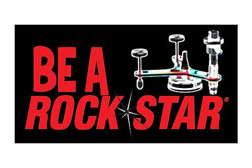 EQ Be a RockStar Sticker