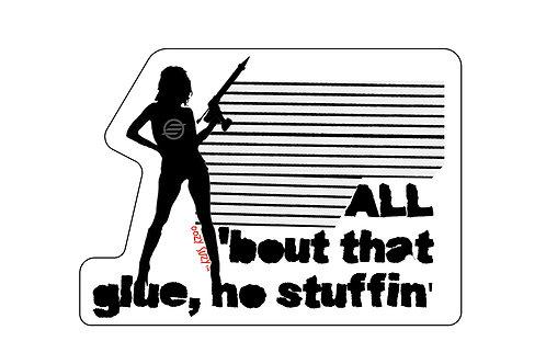 Oozy Suzy- No Stuffin' Sticker