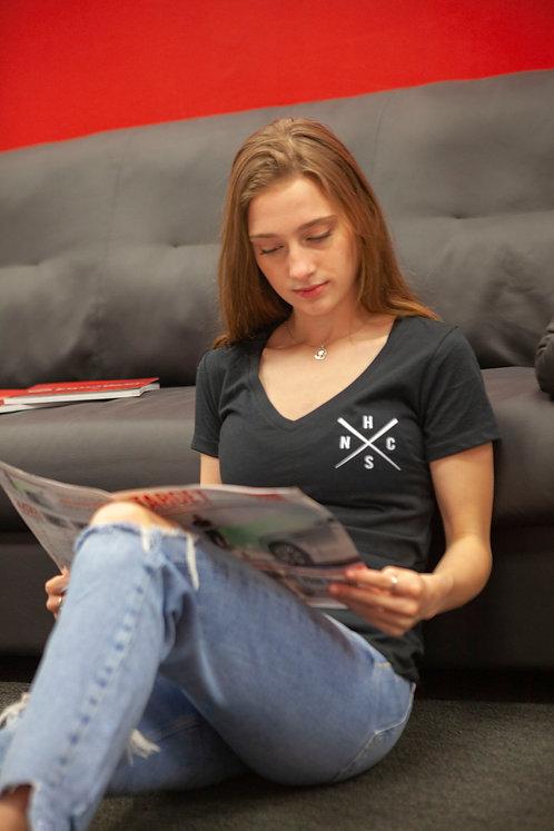 NHCS X-Quad Women's V-Neck