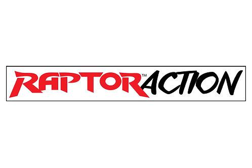 EQ Raptor Action Long Sticker