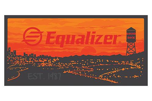 EQ Sunset Sticker