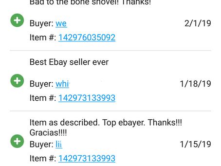 Excellent Feedback on eBay