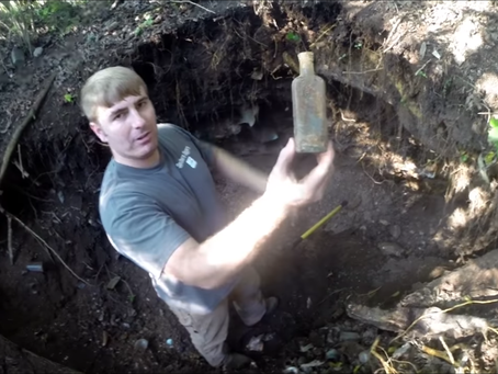 Excalibur Shovels are the Preferred Shovels of Adventure Archaeology on YouTube