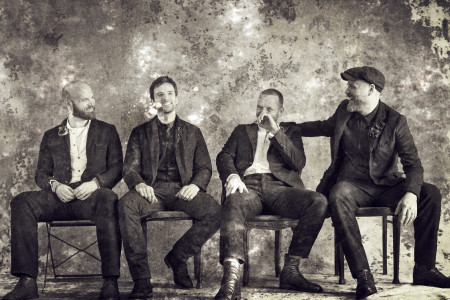Coldplay group photo for everyday life album