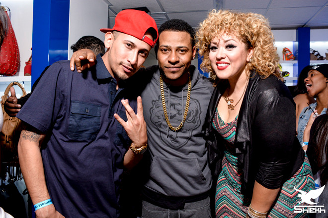 shiekh-shoes-hollywood-grand-opening-eric-bellinger-cecilia-valencia