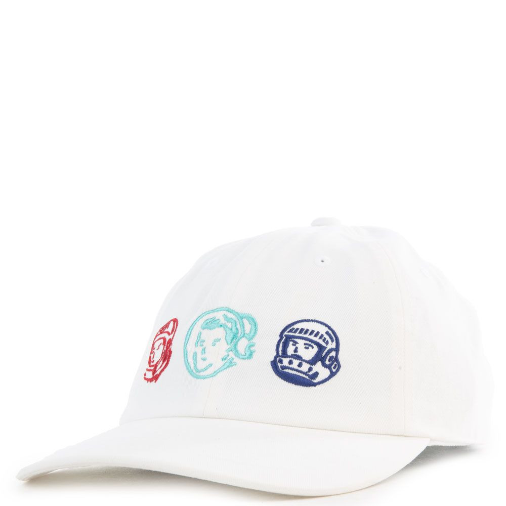 The Logos Hat in White from Billionaire Boys Club available at Karmaloop