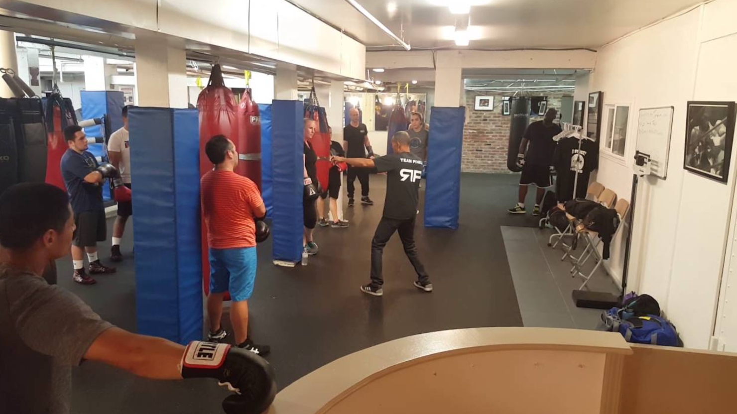 Boxing Fitness Class with Eddie
