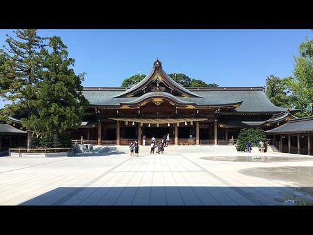 寒川神社と終戦記念日