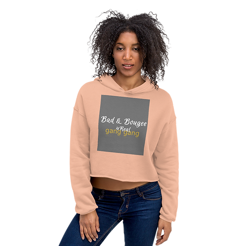 Bad & Bougee 4Real LOVE Crop Hoodie for women