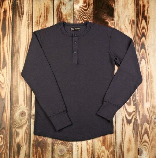 "1954 Utility Shirt Long Sleeve Black ""Pike Brothers"""