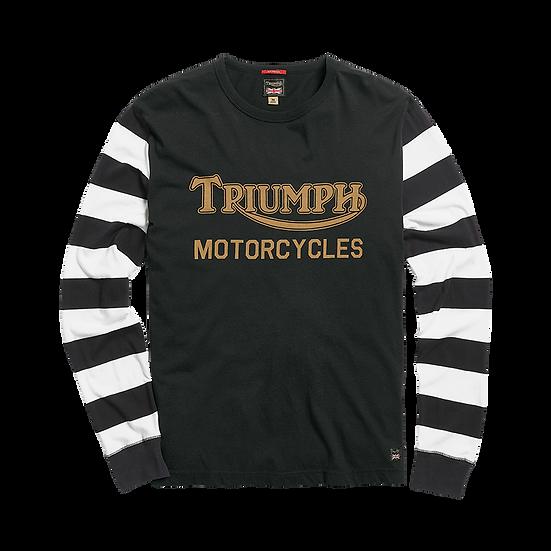 "Tee shirt rayé  Manches Longues ""Triumph Héritage"""