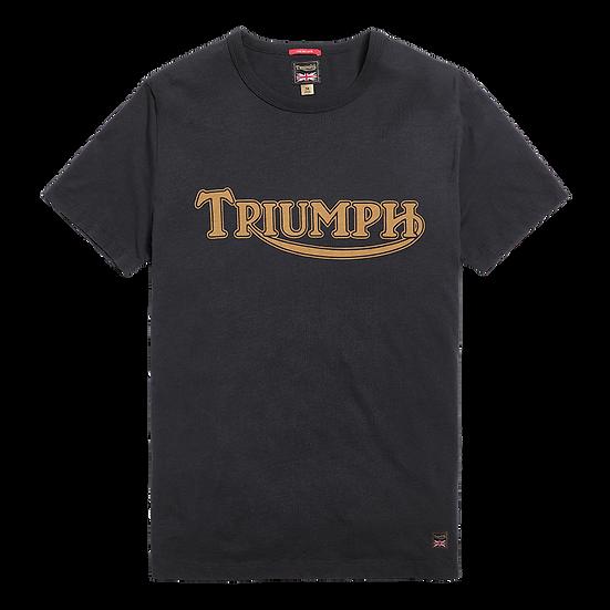 "Tee shirt Noir ""Triumph Héritage"""