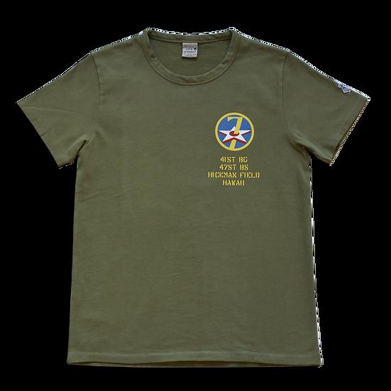 TEE-SHIRT ESQUIRE 7TH AIR FORCE KAKI