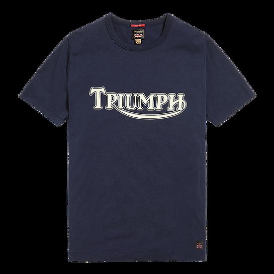 "Tee shirt Navy""Triumph Héritage"""