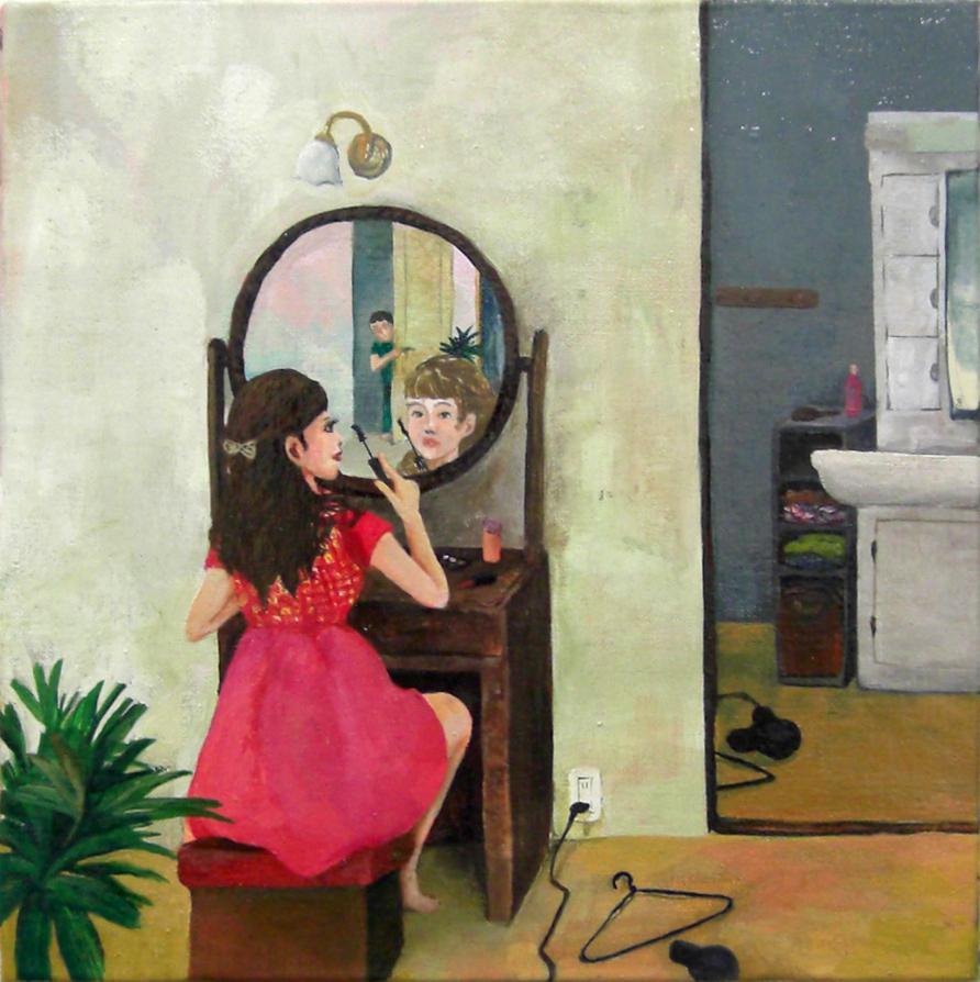 「鏡とわたし」鶴井かな子