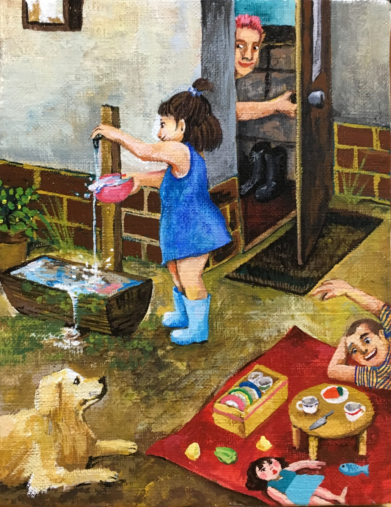 「小さな社会」鶴井かな子