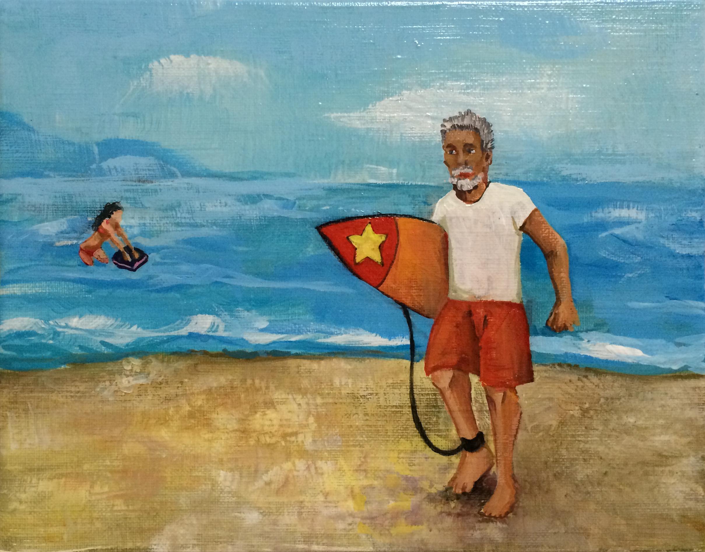 「海の男」鶴井かな子