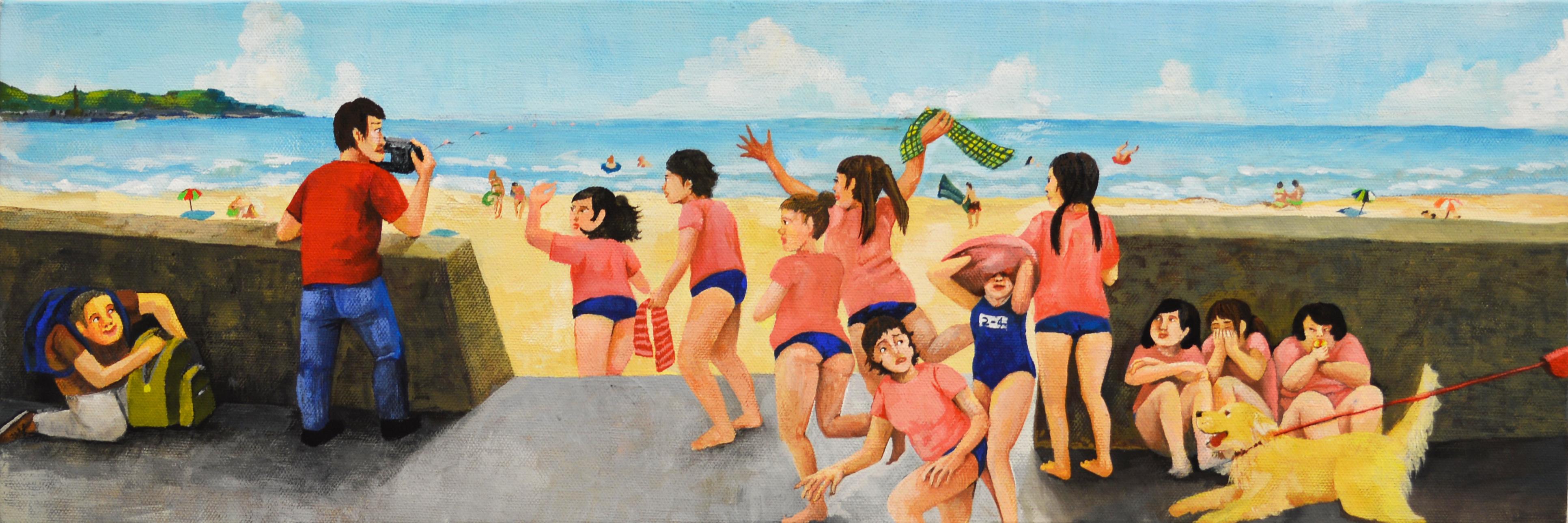 「Beach」鶴井かな子