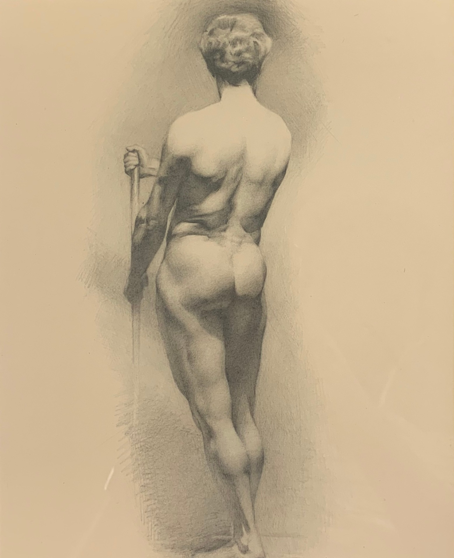 Figure Study after Villigiardi