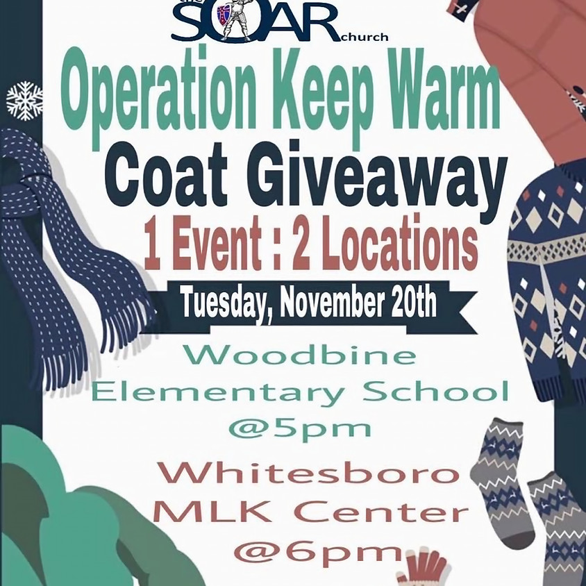 Annual Free Winter Coat Giveaway