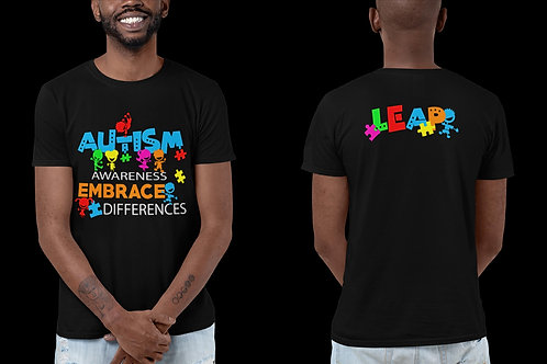 Embrace Differences Autism T Shirt